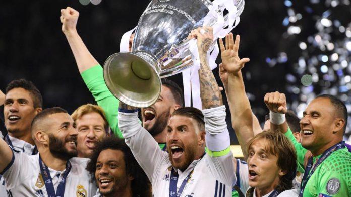 Jucătorii echipei Real Madrid