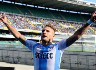 Ciro Immobile, jucator Lazio. Italia - Serie A