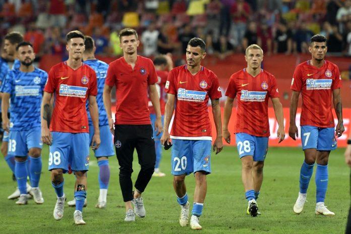 Dennis Man, Florin Tănase, Romario Benzar, Mihai Roman și Florinel Coman, jucători la FCSB, în Liga 1