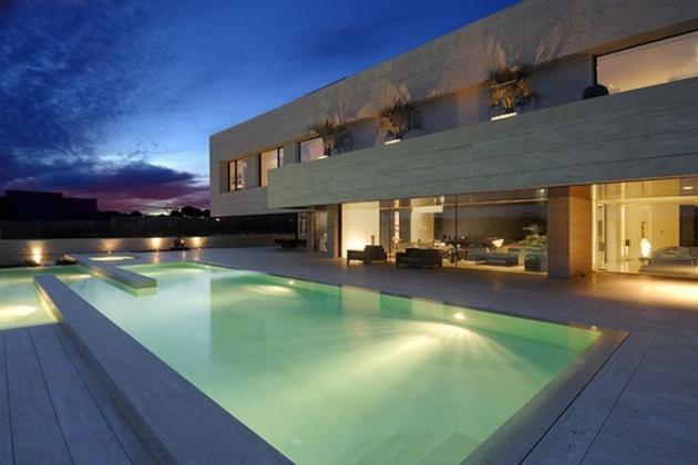 Casa lui Cristiano Ronaldo din Madrid