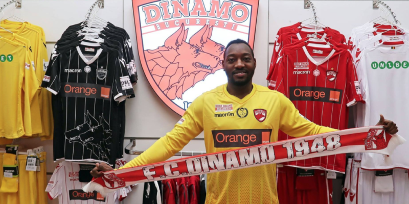 Parfait Mandanda, jucător la Dinamo, în Liga I