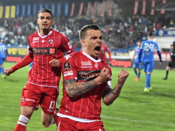 Dan Nistor, jucător la Dinamo, în Liga I