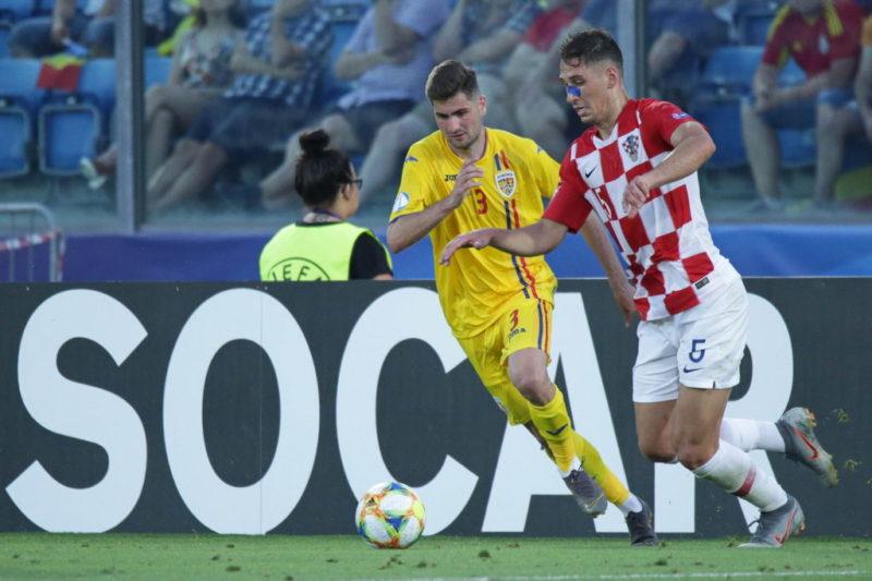 Florin Ștefan, jucător la România U21