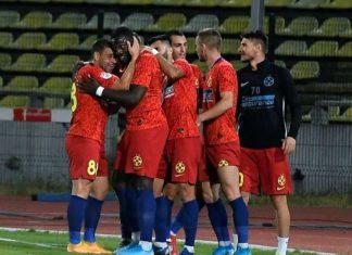 Grup de jucatori de la FCSB, Romania, Liga 1